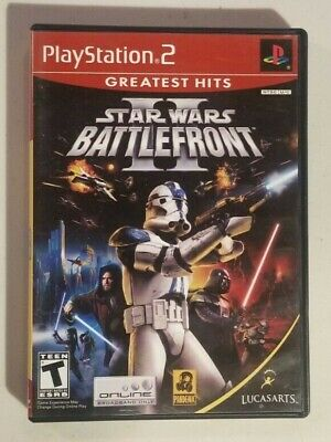 Star Wars: Battlefront II (PlayStation 2)*COMPLETE/FREE SHIPPING*