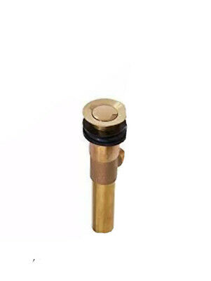 Kingston Brass KB1972AX Faucet, Polished Brass  JUST THE  Drain