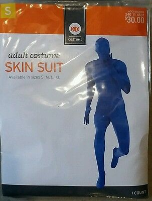 UME BLUE MAN SKIN SUIT FULL BODY SPANDEX SMALL (Blue Man Halloween-kostüm)