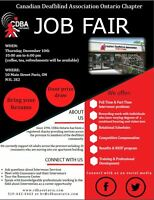 Job Fair - CDBA Ontario