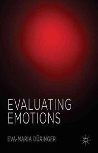 Evaluating Emotions, New, Düringer, Eva-Maria Book