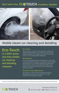 Best Mobile Steam Cleaning + Wash and Detailing – 647-860-4886