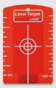 Laserzieltafel-mit-Magnet-fuer-Baulaser-mit-roten-Strahl-Kreuzlinienlaser