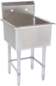 Commercial Sink, prep table, stainless steel table, faucets