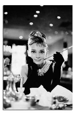 Audrey Hepburn Breatfast At Tiffany's Large Wall Poster