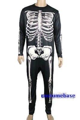 Donnie Darko Skeleton Suit Party Adult Costume Fancy Dress Halloween Jumpsuit