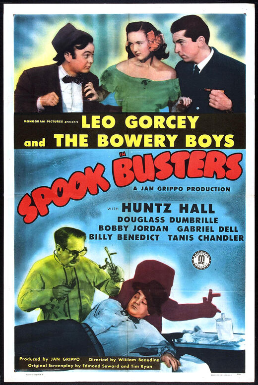 SPOOK BUSTERS Movie POSTER 27x40
