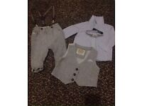 Baby's suit 3-6 months. Wedding. Christening. Formal