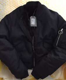 All saints bomber jacket size xs