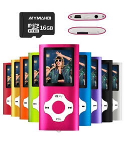 BRAND NEW MP3/MP4 Player with 16GB SD Card (Expandable Memory)