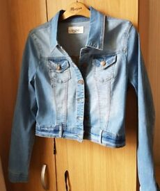 NEW Jeans jacket women size 10 NEW blue jacket