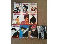 Bleach Manga 1-15 books Shonen Jump Adult Swim