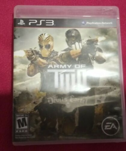 Army Of Two The Devil s Cartel -- Sony PlayStation 3, 2013  - $3.00