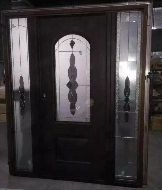 Beautiful New Entry Door With Ultra-Secure Features