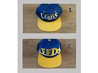 Leeds United baseball caps