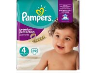 Pampers active fit size 4