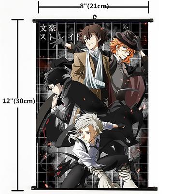 Hot Anime Bungou Stray Dogs Nakahara Chuuya Poster Wall Scroll 2266