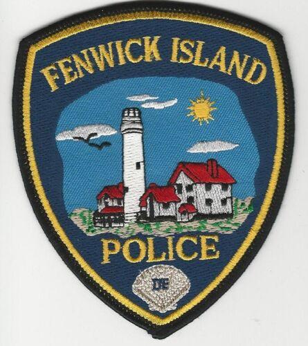 Lighthouse Fenwick Island Police State Delaware DE