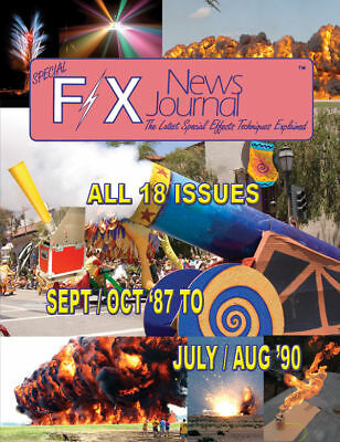 Special F X News Journal Book  New Fireworks Effects