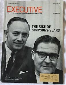EXECUTIVE - the magazine for Canada's Decision Makers 1967