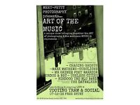 ART OF THE MUSIC - live music and photography show!