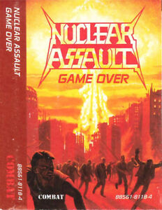 Nuclear Assault - Game Over on cassette