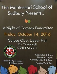 A Night of Comedy Fundraiser