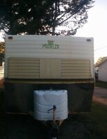 Holiday trailer/ hunting trailer