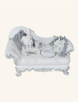 Victorian Trading Co NWOT Chaise Lounge Music Box Swiss Village 36C
