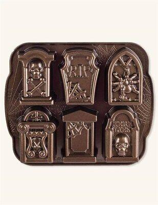 Victorian Trading Co Nordic Ware Tombstone Muffin Cupcake Cake Pan