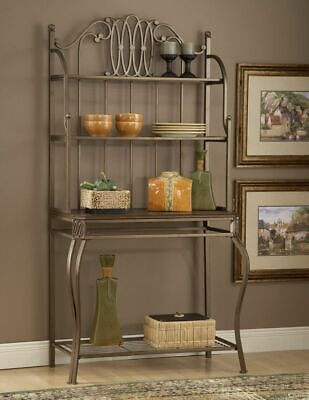 Bakers Rack Hillsdale Furniture - Hillsdale Furniture Montello Baker's Rack New In Box Old Steel - S.E. PA Only