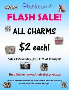 Flash sale***Annibelle Lockets By You - $2.00 ALL CHARMS!