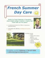 French Summer Daycare in Orillia