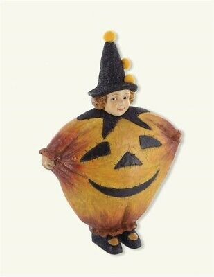 Paper Halloween Costumes (Victorian Trading Co Halloween Paper Mache Peter Pumpkin Eater in Costume)