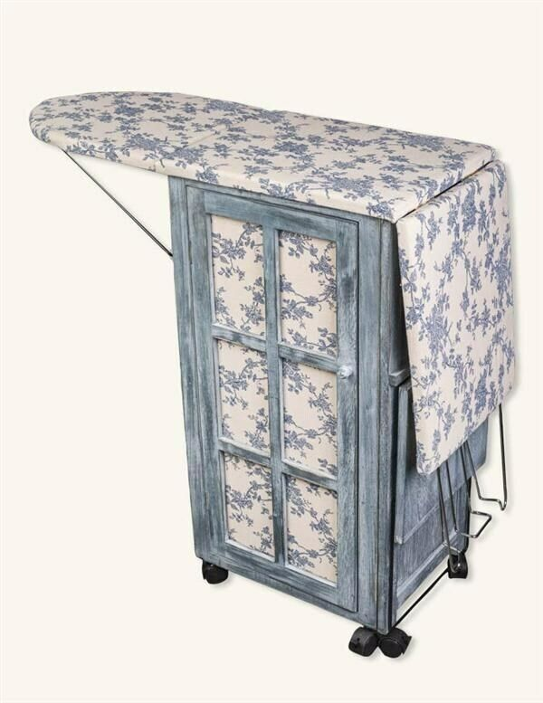Victorian Trading NWOT French Country Ironing Day Station Board & Cabinet 18Z