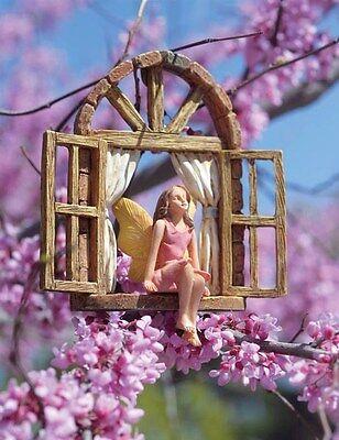 Victorian Trading Co Hanging Stargazer Garden Fairy on Window