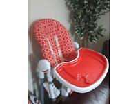 Baby feeding highchair