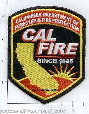 California   Ca Dept Of Forestry   Fire Protection Fire Dept Patch   Cal Fire