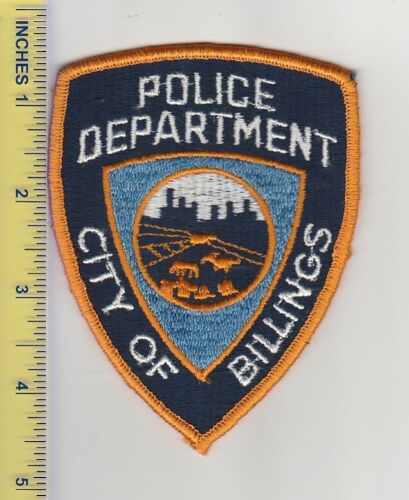 US Police Patch Billings Montana Police Department