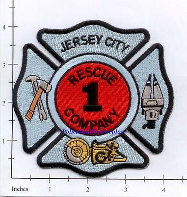 New Jersey - Jersey City Rescue 1 Fire Dept Patch