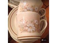 Royal Doulton Lambethware Florinda teaset&dinner set