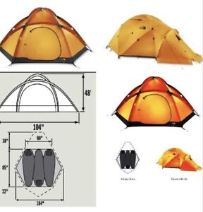 North face VE-25 expedition tent