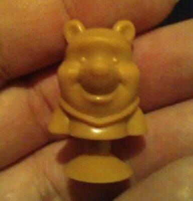 New Best Buddies Micropopz Disney Collectible Winnie the Pooh solid brown color