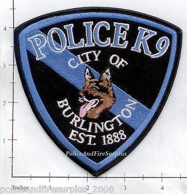 Colorado - Burlington CO Police Dept K-9 Patch