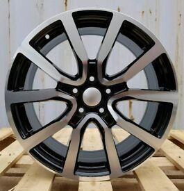 NEW 17'' VW GOLF ADIDAS STYLE ALLOY WHEELS X4 BOXED 5X100 MK4 BORA POLO AUDI TT MK1