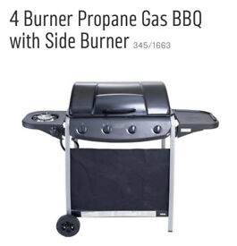 Gas barbecue BBQ