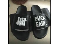 F**ck Fair Sandals Size 6 But More Of A Size 5 Brand New In Box (can Post)