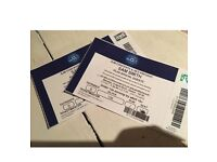 X2 Sam Smith tickets , amazing seats at O2 on Monday 9th April