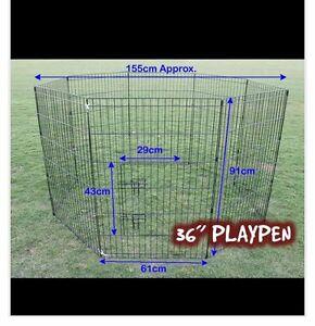 8 Panel Pet Playpen Dog Cage Hurstville Hurstville Area Preview