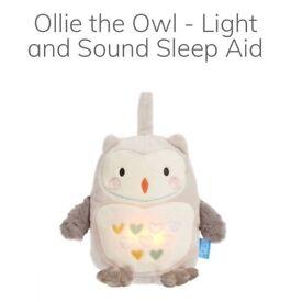 Ollie owl white noise toy